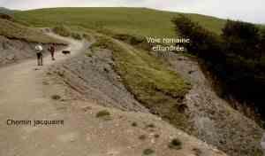 les deux voies Route Charlemagne CHAR